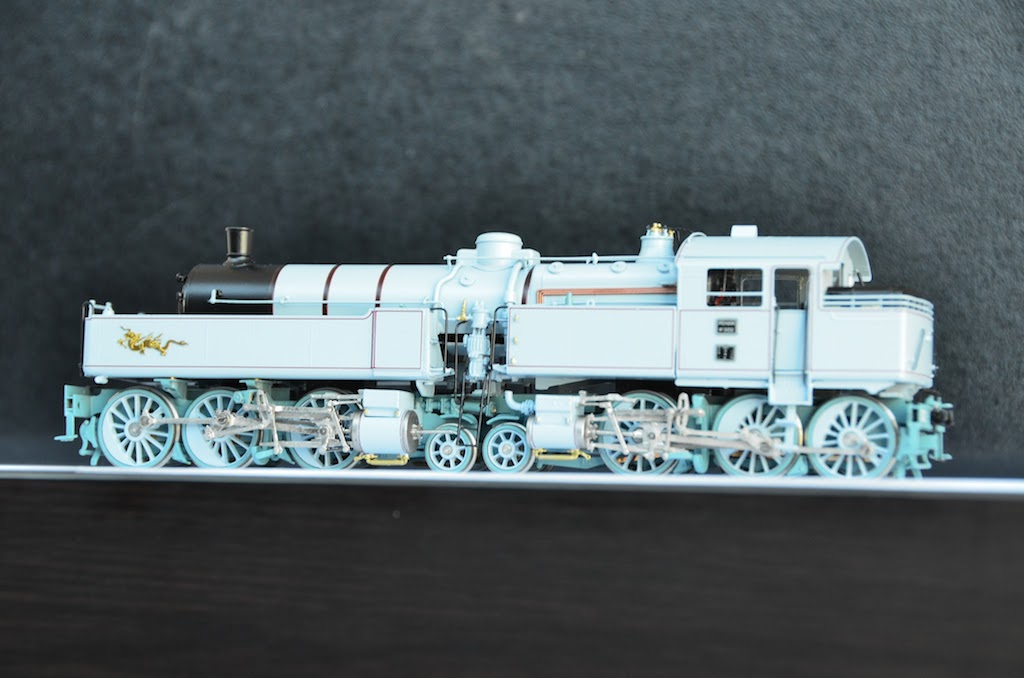 031-130 Du Bousquet Steam Locomotive HO-001/3