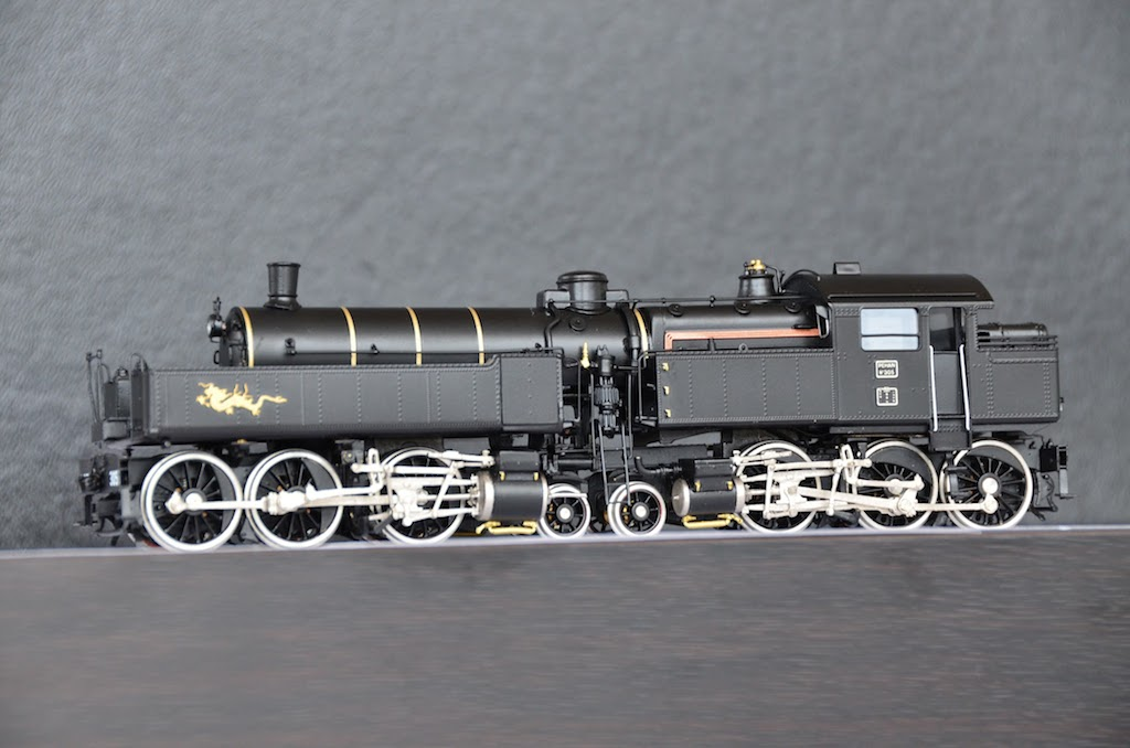 031-130 Du Bousquet Steam Locomotive HO-001/4