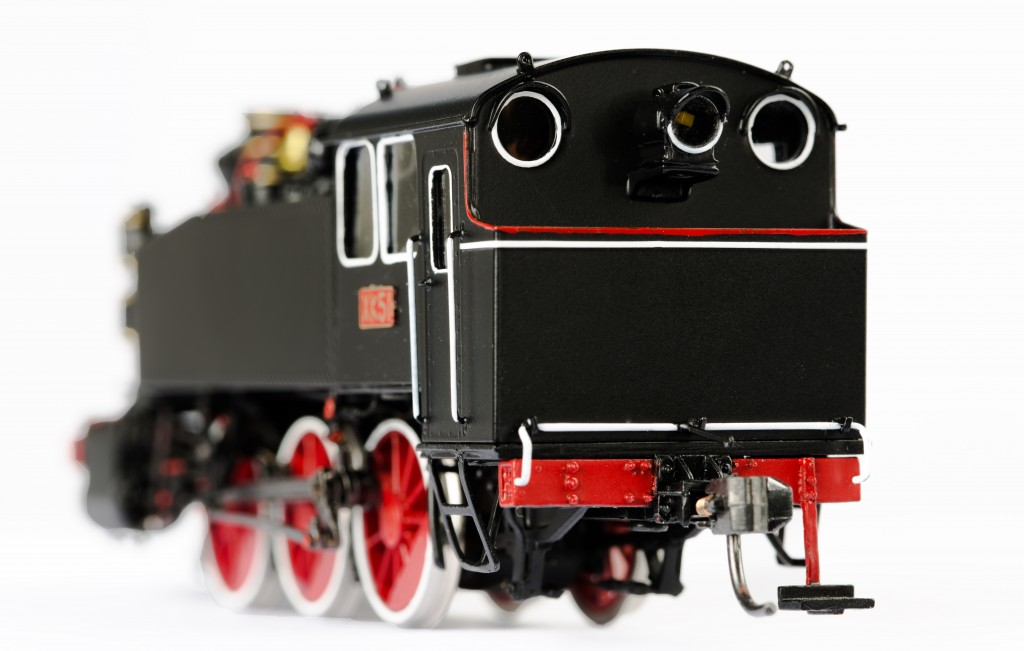 USATC S100 0-6-0T Steam Locomotive HO-004/3
