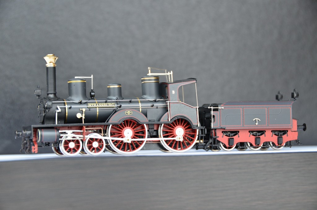 Wuerttemberg Class B &#8220;Strassbourg&#8221; Steam Locomotive<br/>HO-009/2