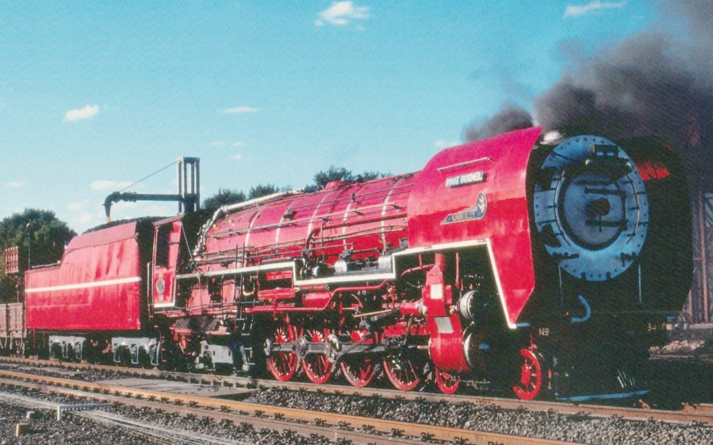 No. 5 Type in bright red as on may 1991