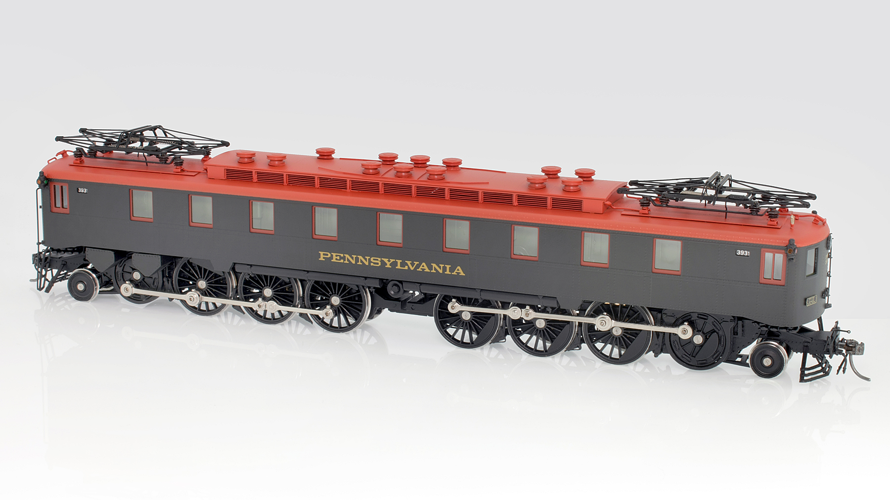 Pennsylvania Railway PRR FF-1 Electric Locomotive HO-010/2