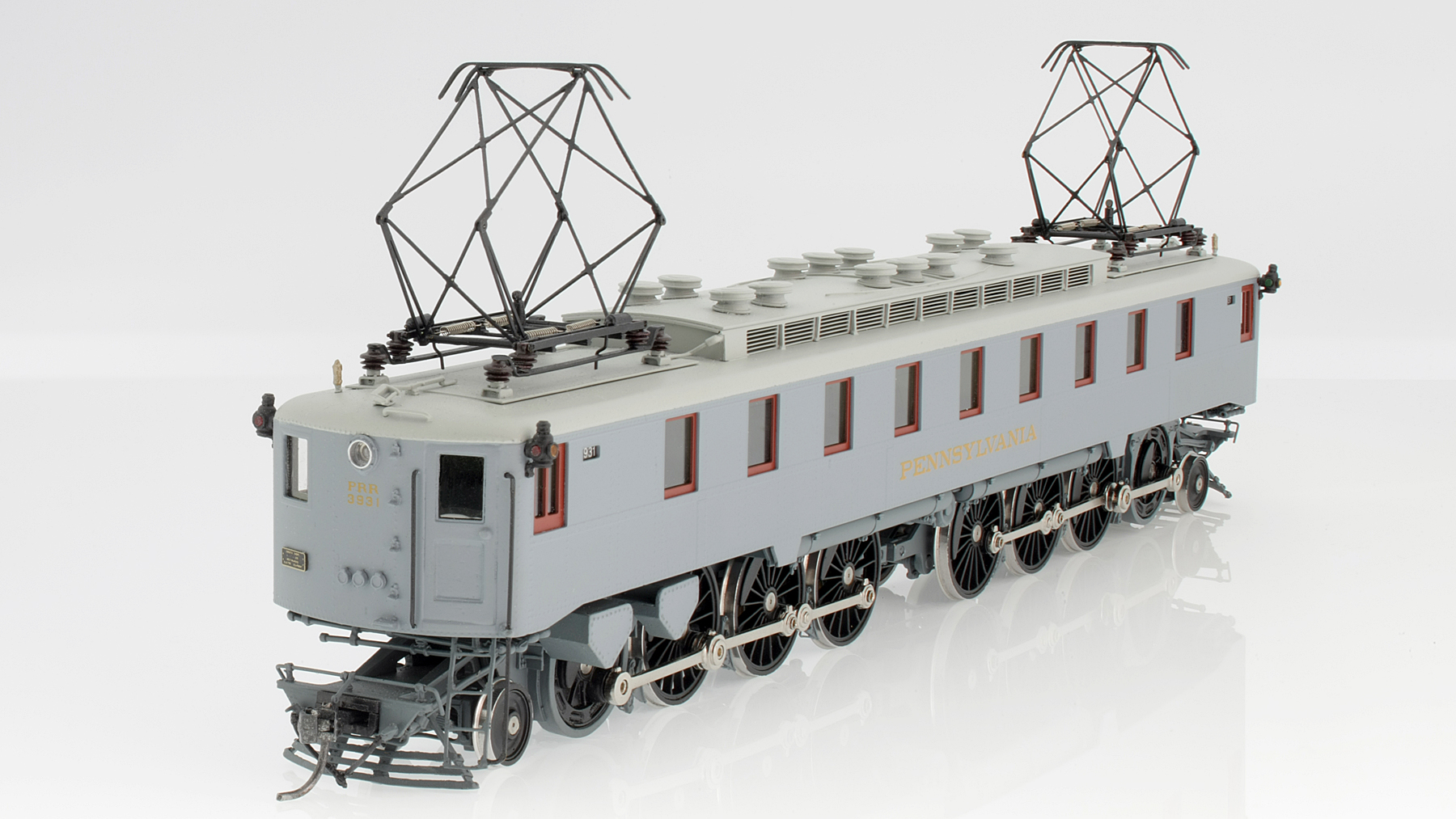 Pennsylvania Railway PRR FF-1 Electric Locomotive HO-010