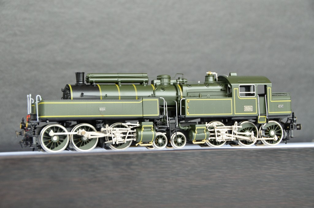 031-130 Du Bousquet Steam Locomotive <br/> HO-001/8