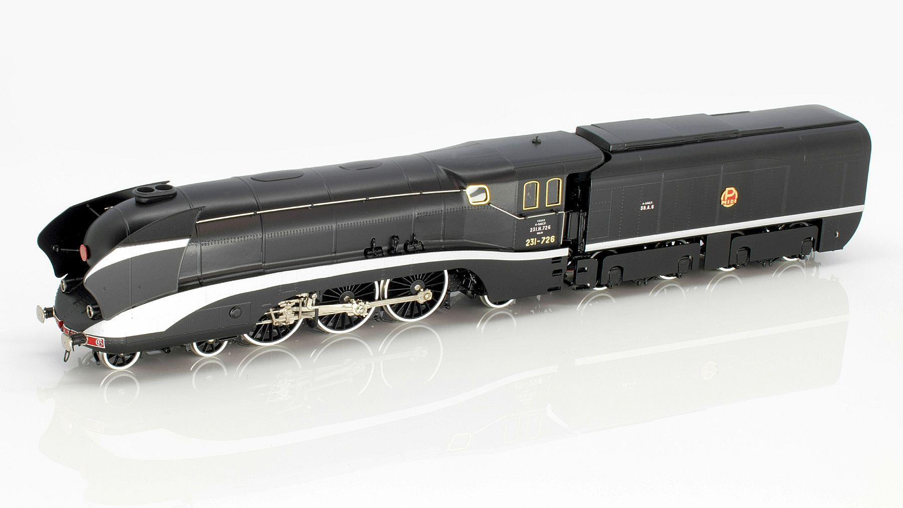 SNCF 231 H 726 Streamlined Steam Locomotive HO-011/4