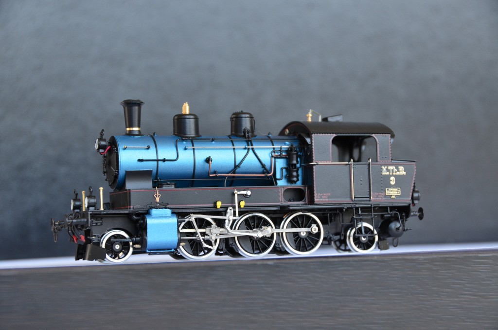 MThB Ed 3/5 No.3 Steam Locomotive HO-022/3