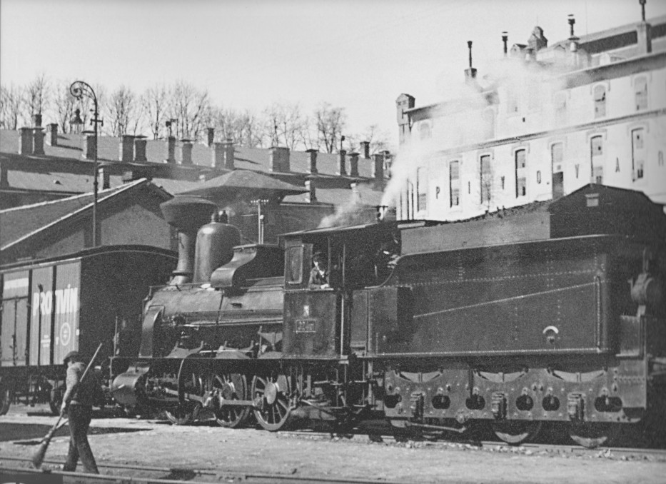 CSD Reihe 324.1 Steam Locomotive HO-023/2