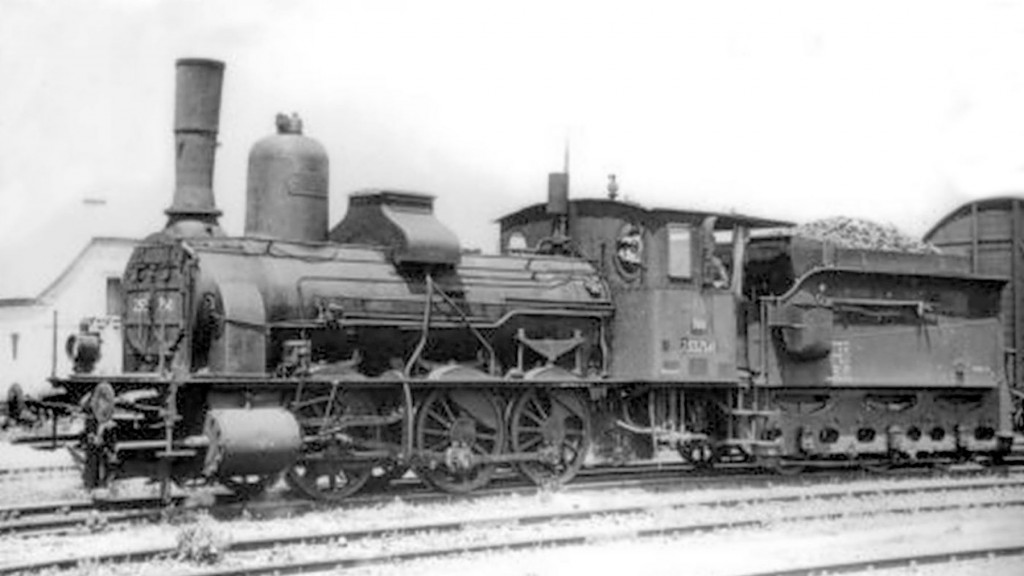 ÖBB Reihe 253 7141 Steam Locomotive HO-023/4